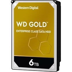 "WD Gold WD6003FRYZ 6 TB Hard Drive - 3.5"" Internal - SATA (SATA/600)"