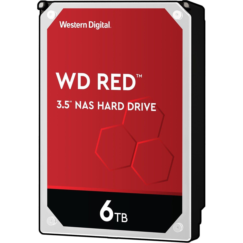 """WD Red WD60EFAX 6 TB Hard Drive - 3.5"""" Internal - SATA (SATA/600)"""