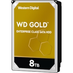 "WD Gold WD8004FRYZ 8 TB Hard Drive - 3.5"" Internal - SATA (SATA/600)"