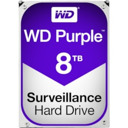 "WD Purple WD80PURZ 8 TB Hard Drive - SATA (SATA/600) - 3.5"" Drive - Internal"