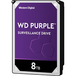 "WD Purple WD82PURZ 8 TB Hard Drive - SATA (SATA/600) - 3.5"" Drive - Internal"