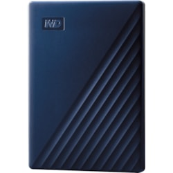 WD My Passport for Mac WDBA2F0050BBL 5 TB Portable Hard Drive - External - Midnight Blue