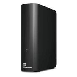 WD Elements WDBBKG0120HBK 12 TB Desktop Hard Drive - External - Black