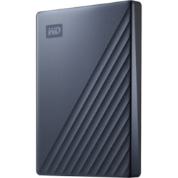 WD My Passport Ultra WDBC3C0020BBL 2 TB Portable Hard Drive - External - Blue