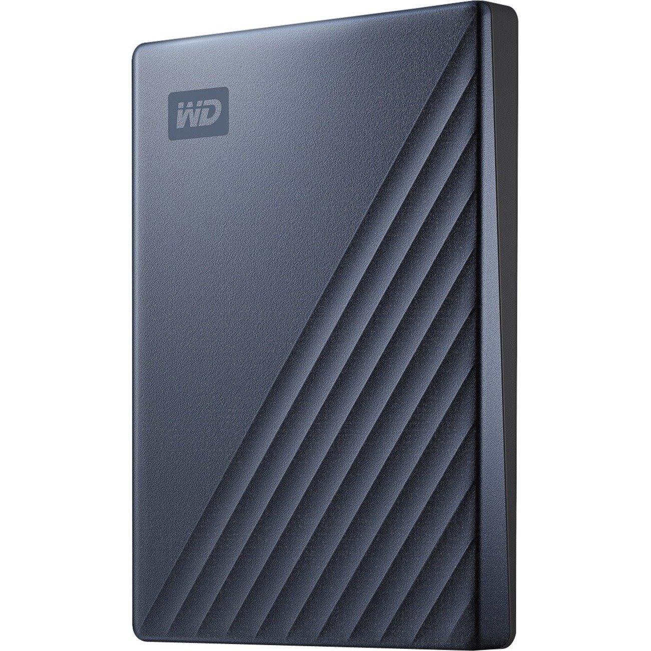 WD My Passport Ultra WDBC3C0020BBL 2 TB Portable Hard Drive - External - Blue