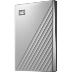 WD My Passport Ultra WDBC3C0020BSL 2 TB Portable Hard Drive - External - Silver