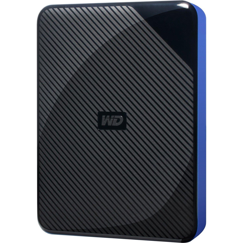 "WD WDBDFF0020BBK-WESN 2 TB Portable Hard Drive - 2.5"" External - Black, Blue"