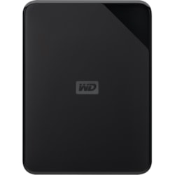 "WD Elements SE WDBEPK0010BBK-WESN 1 TB Portable Hard Drive - 2.5"" External - Black"