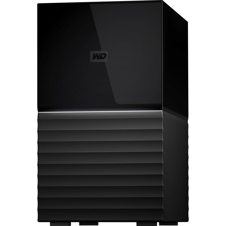 WD My Book Duo WDBFBE0040JBK-AESN 2 x Total Bays DAS Storage System - Desktop