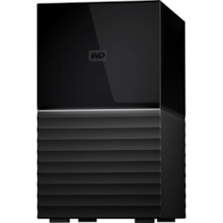 WD My Book Duo WDBFBE0060JBK-AESN 2 x Total Bays DAS Storage System - Desktop