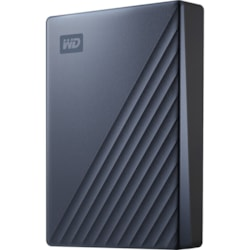 WD My Passport Ultra WDBFTM0040BBL 4 TB Portable Hard Drive - External - Blue