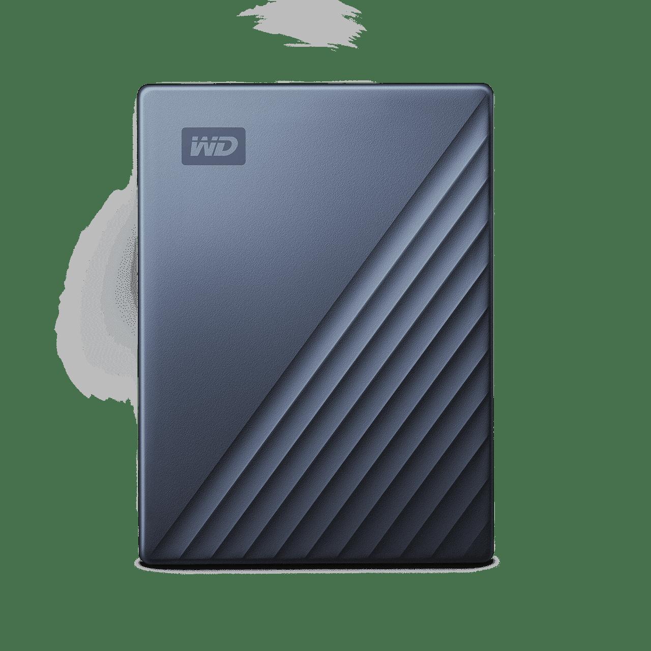 WD My Passport Ultra WDBFTM0050BBL 5 TB Portable Hard Drive - External - Blue