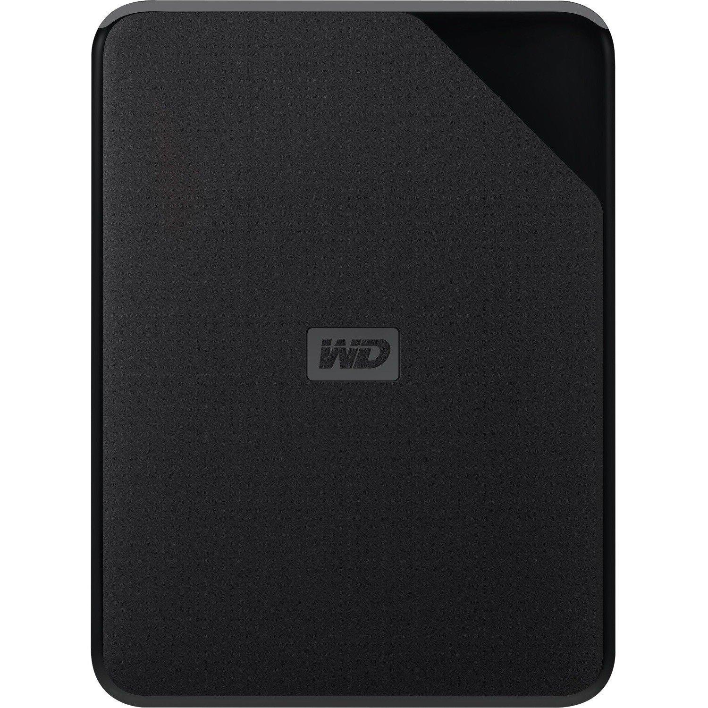 WD Elements SE WDBJRT0040BBK-WESN 4 TB Hard Drive - External - Portable