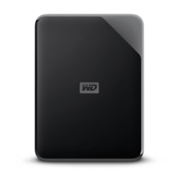 WD Elements SE WDBJRT0050BBK 5 TB Portable Hard Drive - External - Black