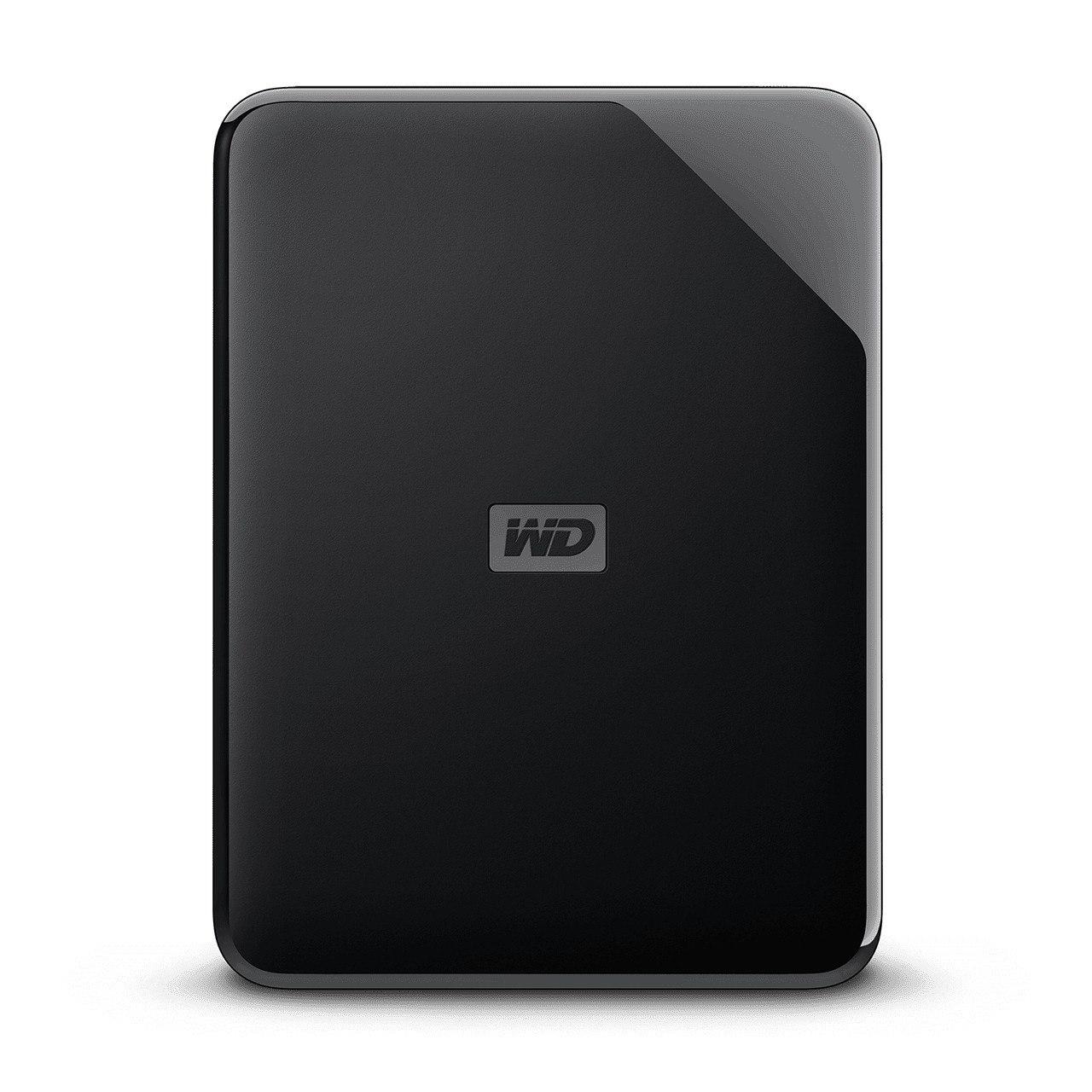 WD Elements SE WDBJRT0050BBK 5 TB Portable Hard Drive - External - Black