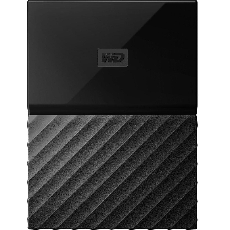 "WD My Passport for Mac WDBLPG0020BBK-WESE 2 TB Portable Hard Drive - 2.5"" External - Black"