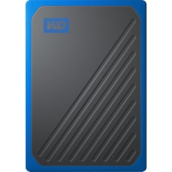 WD My Passport Go WDBMCG5000ABT-WESN 500 GB Portable Solid State Drive - External - Black, Cobalt