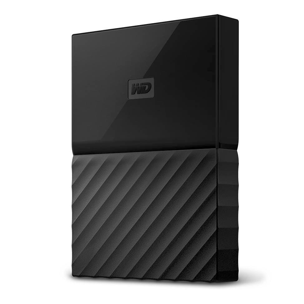 WD My Passport for Mac WDBP6A0040BBK 4 TB Hard Drive - External - Portable