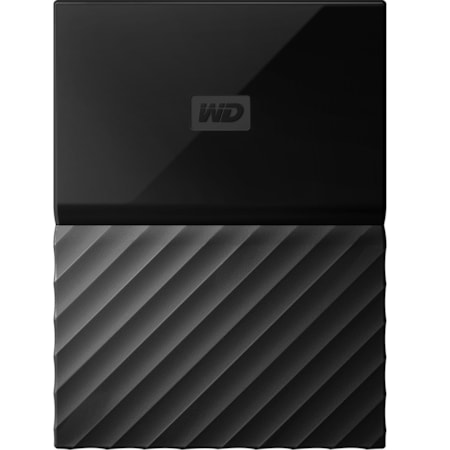 WD My Passport for Mac WDBP6A0040BBK-WESE 4 TB Hard Drive - External - Portable - Black