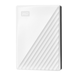 WD My Passport WDBPKJ0050BWT-WESN 5 TB Portable Hard Drive - External - White