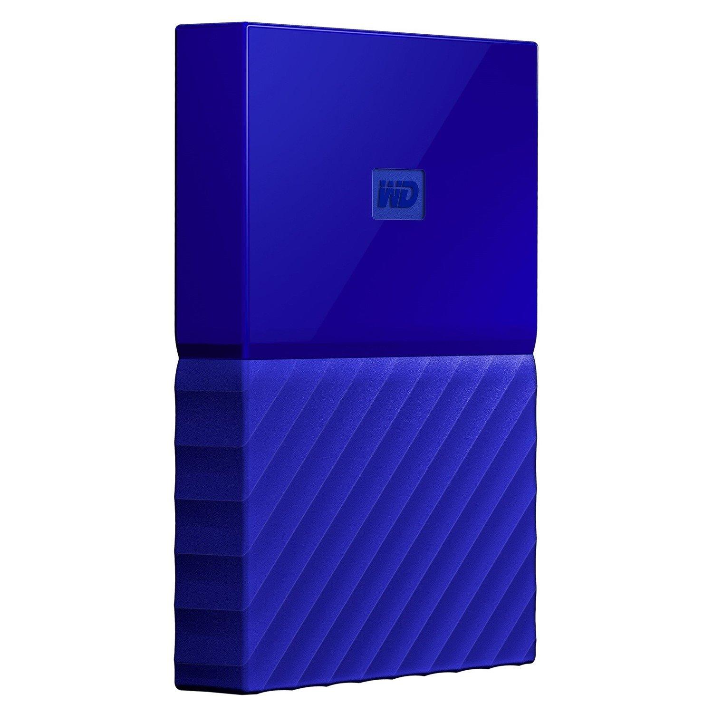 WD My Passport WDBS4B0020BBL-WESN 2 TB Hard Drive - External - Portable