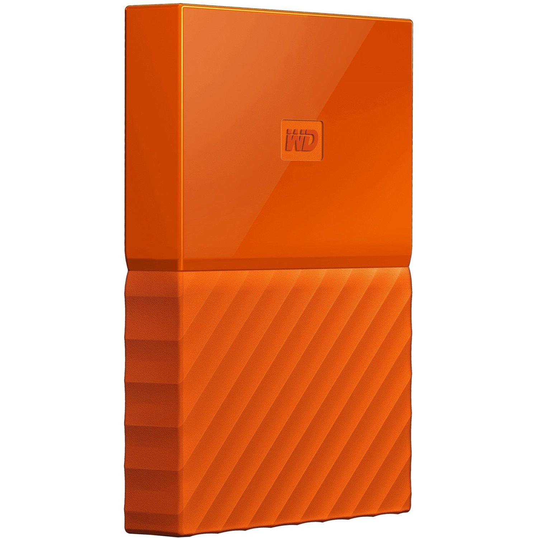 WD My Passport WDBS4B0020BOR-WESN 2 TB Hard Drive - External - Portable