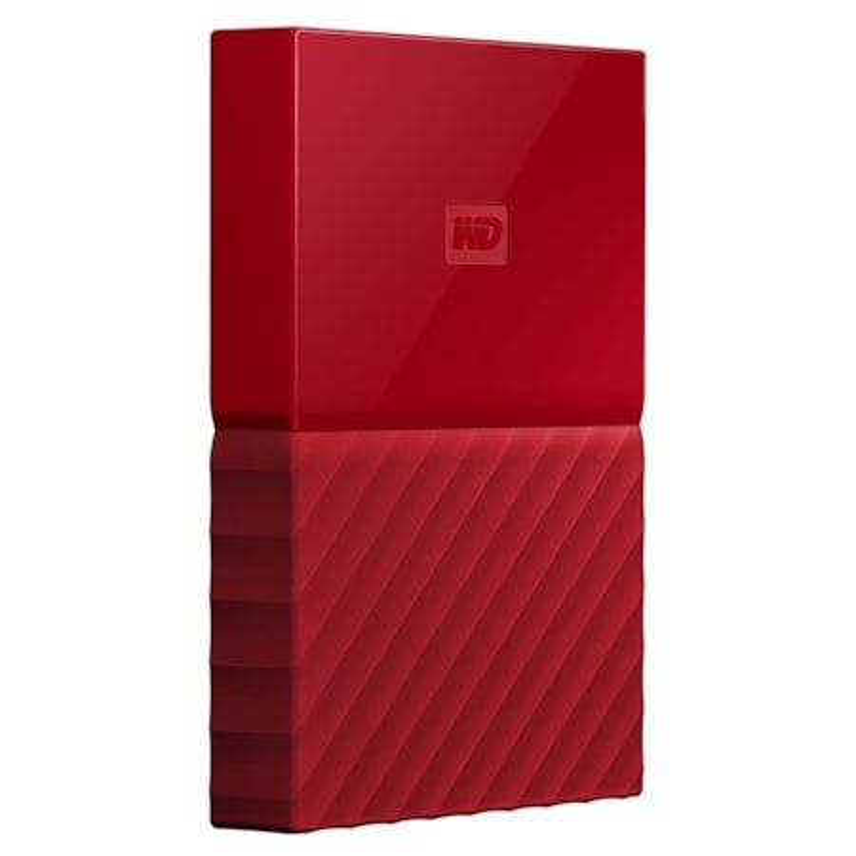 WD My Passport WDBS4B0020BRD-WESN 2 TB Hard Drive - External - Portable