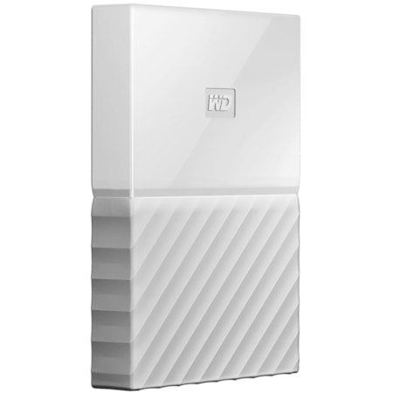 WD My Passport WDBS4B0020BWT-WESN 2 TB Hard Drive - External - Portable - White