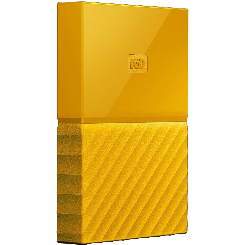 WD My Passport WDBS4B0020BYL-WESN 2 TB Hard Drive - External - Portable