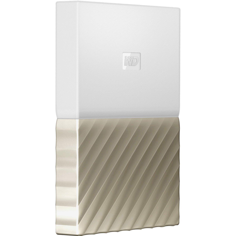 WD My Passport Ultra WDBTLG0020BGD-WESN 2 TB Hard Drive - External - Portable