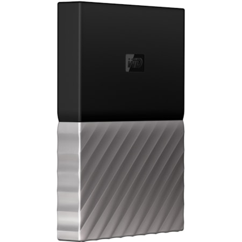 WD My Passport Ultra WDBTLG0020BGY-WESN 2 TB Hard Drive - External - Portable