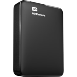 WD Elements WDBU6Y0020BBK 2 TB Portable Hard Drive - External