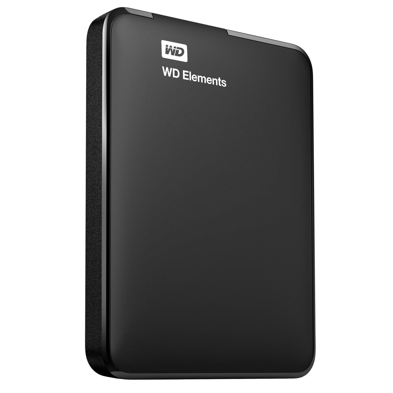 "WD Elements WDBU6Y0030BBK 3 TB 2.5"" External Hard Drive - Portable"