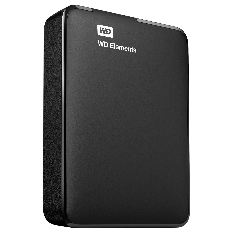 WD Elements WDBU6Y0030BBK 3 TB Hard Drive - External - Portable