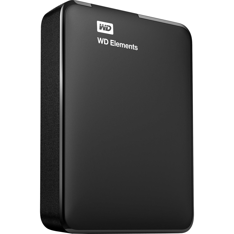 WD Elements WDBU6Y0030BBK 3 TB Portable Hard Drive - External