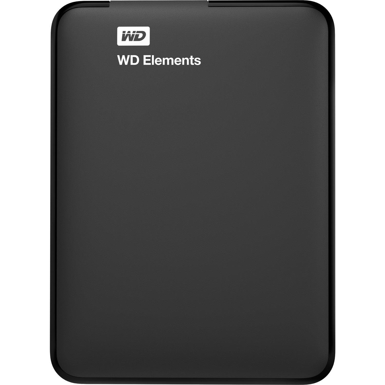 WD Elements SE WDBU6Y0040BBK-WESN 4 TB Hard Drive - External - Portable