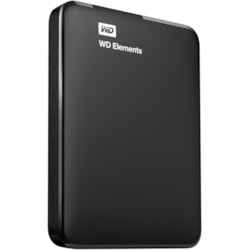 WD Elements WDBUZG0010BBK 1 TB Hard Drive - External - Portable