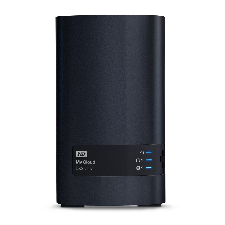WD My Cloud EX2 Ultra WDBVBZ0040JCH 2 x Total Bays NAS Storage System - Desktop