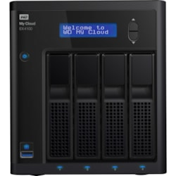 WD My Cloud EX4100 4 x Total Bays NAS Storage System - Marvell ARMADA 300 Dual-core (2 Core) 1.60 GHz - 2 GB RAM - DDR3 SDRAM Desktop