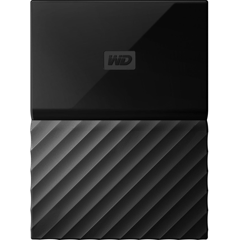 "WD My Passport WDBYFT0040BBK 4 TB Portable Hard Drive - 2.5"" External - Black"