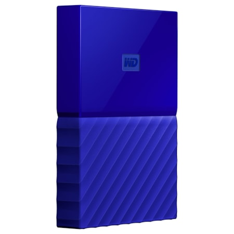 WD My Passport WDBYFT0040BBL-WESN 4 TB Hard Drive - External - Portable