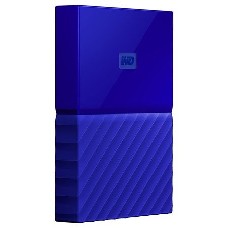 WD My Passport WDBYFT0040BBL-WESN 4 TB Hard Drive - External - Portable