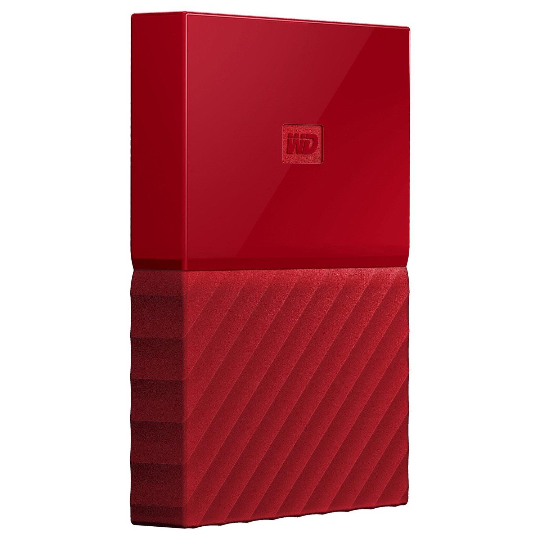 WD My Passport WDBYFT0040BRD-WESN 4 TB Hard Drive - External - Portable