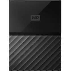 WD My Passport WDBYNN0010BBK 1 TB Portable Hard Drive - External - Black