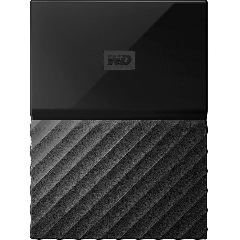 WD My Passport WDBYNN0010BBK 1000 GB Hard Drive - External - Portable