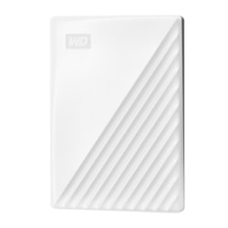 WD My Passport WDBYVG0020BWT-WESN 2 TB Portable Hard Drive - External - White