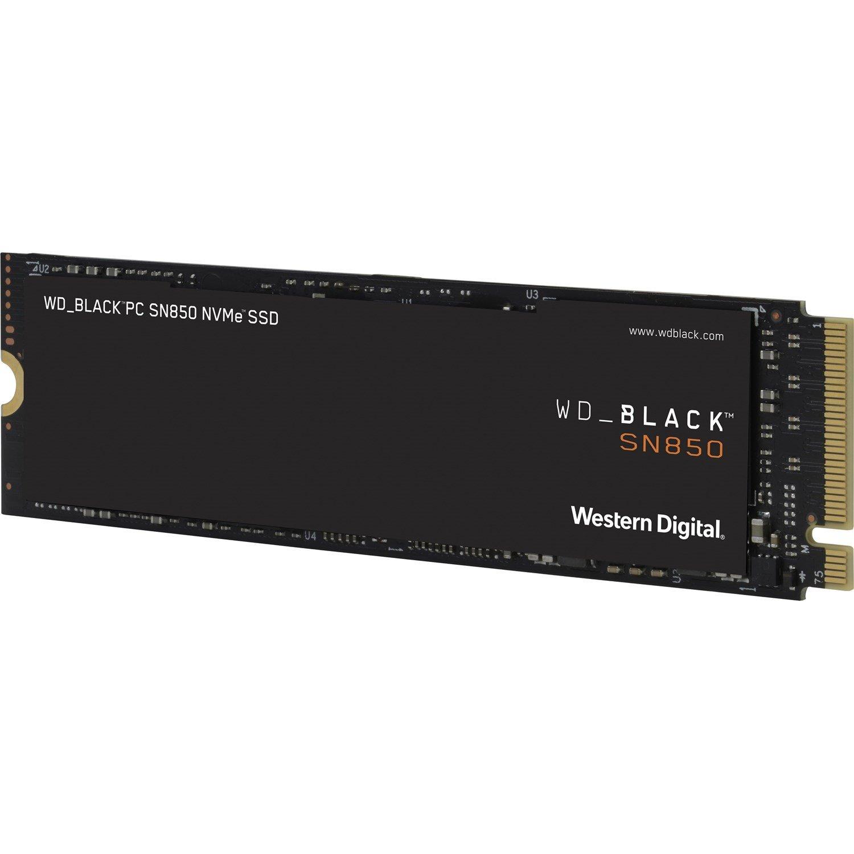 WD Black SN850 WDS100T1X0E 1 TB Solid State Drive - M.2 2280 Internal - PCI Express NVMe (PCI Express 4.0 x4)