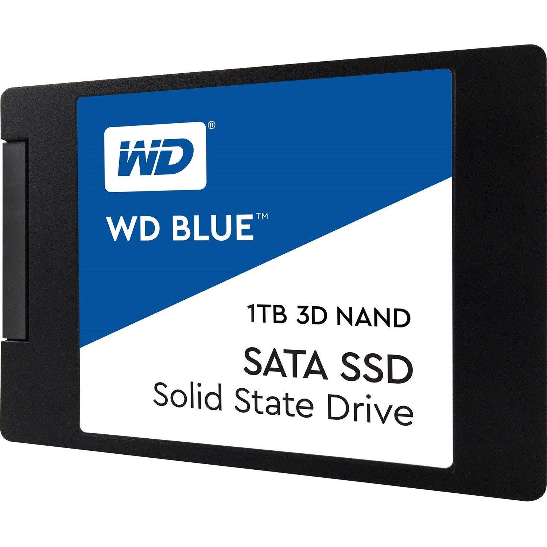 """WD Blue WDS100T2B0A 1 TB Solid State Drive - SATA (SATA/600) - 2.5"""" Drive - Internal"""