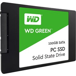 "WD Green WDS120G1G0A 120 GB Solid State Drive - 2.5"" Internal - SATA (SATA/600)"