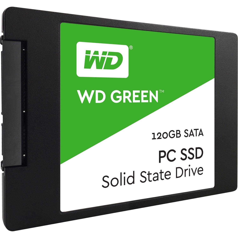 "WD Green WDS120G1G0A 120 GB Solid State Drive - 2.5"" Internal - SATA (SATA/600)"